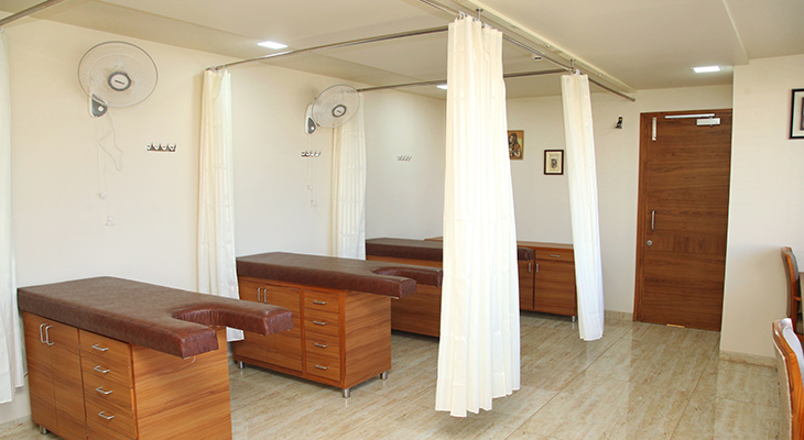 Examination Room at Dr. Nagori's Institute